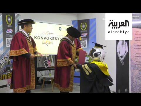 تخريج الروبوتات بدلا من الطلاب في زمن كورونا