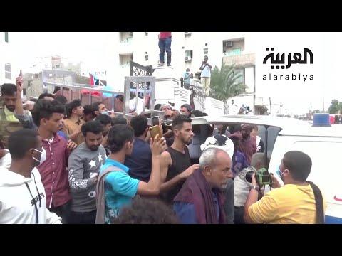 آلاف اليمنيين يشيعون جثمان الصحافي نبيل القعيطي الذي اغتيل في عدن