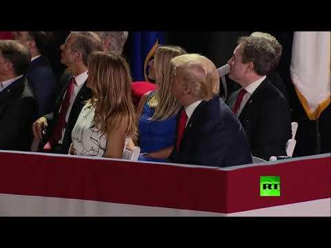 شاهد ترامب يفتتح عطلة عيد الاستقلال في الولايات المتحدة