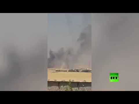 شاهد سلسلة انفجارات متتالية تهز محافظة أربيل في إقليم كردستان العراق